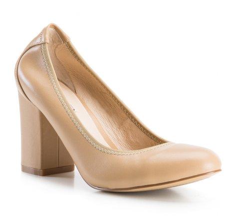 Buty damskie, beżowy, 84-D-902-9-35, Zdjęcie 1