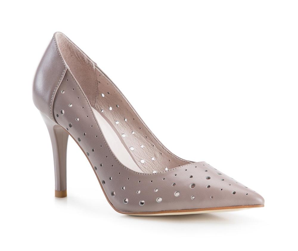 Обувь женскаяЖенские туфли на шпильке, выполнены по технологии Hand Made из натуральной итальянской кожи наивысшего качества. Подошва сделана из качественного синтетического материала. Интересный узор придаст любому стилю неповторимый характер.  натуральная кожа  натуральная кожа синтетический материал<br><br>секс: женщина<br>Цвет: фиолетовый<br>Размер EU: 39<br>материал:: Натуральная кожа<br>примерная высота каблука (см):: 9
