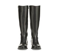 Women's knee high boots, black, 85-D-209-1-36, Photo 1
