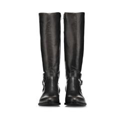 Women's knee high boots, black, 85-D-210-1-36, Photo 1