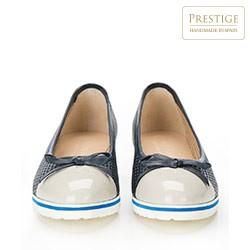 Women's shoes, navy blue-grey, 86-D-110-9-38, Photo 1