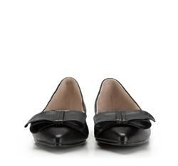 Women's ballerina shoes, black, 86-D-603-1-36, Photo 1