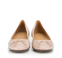 Women's ballerina shoes, beige - silver, 86-D-708-9-36, Photo 1
