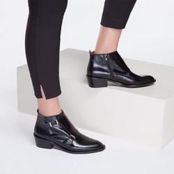 Buty damskie, czarny, 87-D-457-1-35, Zdjęcie 1