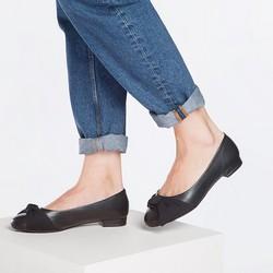Women's shoes, black, 87-D-714-1-40, Photo 1