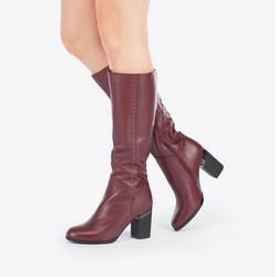 Women's shoes, burgundy, 87-D-950-2-35, Photo 1