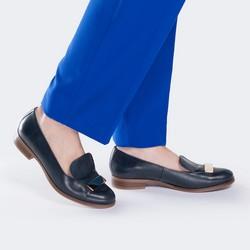 Women's shoes, navy blue, 88-D-459-7-36, Photo 1