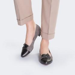 Women's shoes, beige-brown, 88-D-961-8-37, Photo 1