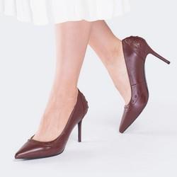 Women's shoes, burgundy, 89-D-900-2-37, Photo 1