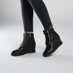 Buty damskie, czarny, 89-D-907-1-38, Zdjęcie 1