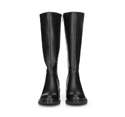 WOMEN'S KNEE HIGH BOOTS, black, 89-D-965-1-35, Photo 1