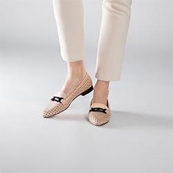 Women's shoes, beige, 90-D-102-9-41, Photo 1