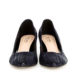 Women's shoes, navy blue, 90-D-203-7-39, Photo 1