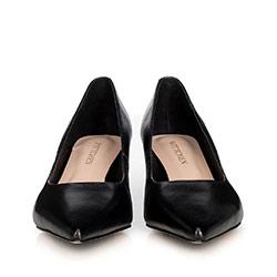 Women's court shoes, black, 90-D-954-1-37, Photo 1