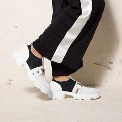 Shoes, white-black, 92-D-136-0-38, Photo 1