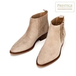 Shoes, beige, 92-D-157-8-38, Photo 1