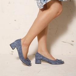Shoes, blue, 92-D-952-7-37, Photo 1