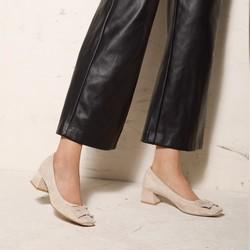 Shoes, beige - silver, 92-D-952-9-37, Photo 1