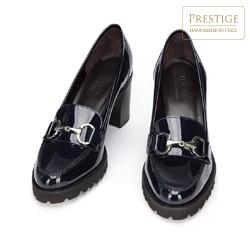 Shoes, navy blue, 93-D-100-9-38_5, Photo 1