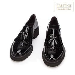 Women's patent leather shoes, black, 93-D-102-1-39, Photo 1