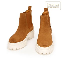 Shoes, camel, 93-D-303-5-40, Photo 1