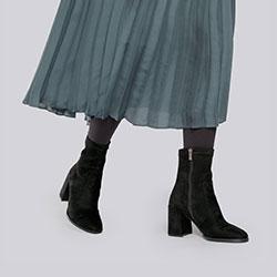 Ankle boots, black, 93-D-968-1-35, Photo 1