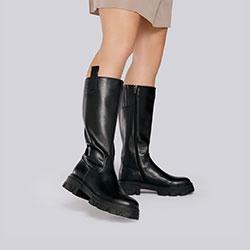 Women's boots, black, 93-D-969-1-40, Photo 1