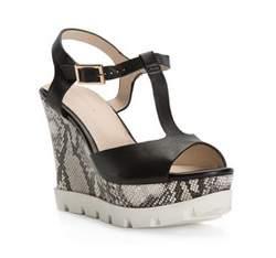 Buty damskie, czarny, 82-D-537-1-38, Zdjęcie 1