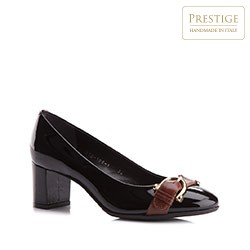 Buty damskie, czarny, 77-D-108-1-39, Zdjęcie 1