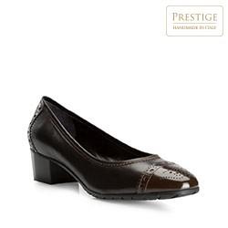 Buty damskie, czarno - brązowy, 81-D-115-4-37, Zdjęcie 1