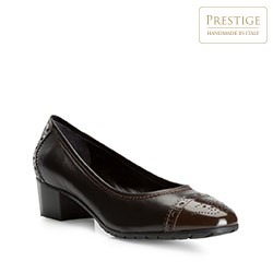 Buty damskie, czarno - brązowy, 81-D-115-4-40, Zdjęcie 1