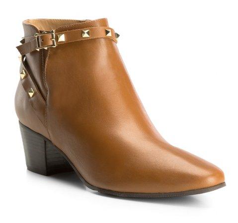 Buty damskie, brązowy, 83-D-759-5-35, Zdjęcie 1