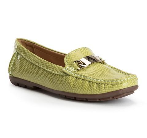 Buty damskie, zielony, 82-D-701-Z-35, Zdjęcie 1