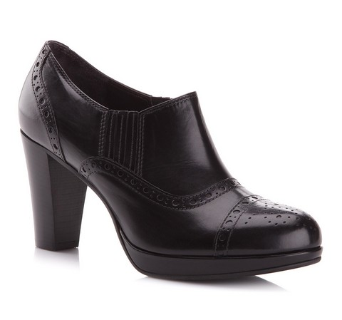 Buty damskie, czarny, 77-D-111-8-39, Zdjęcie 1