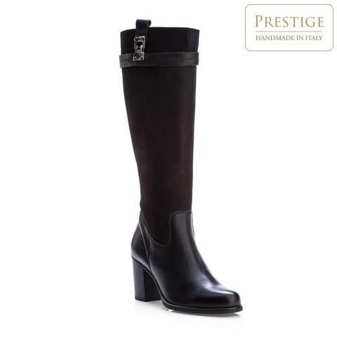 Buty damskie, czarny, 83-D-802-1-35, Zdjęcie 1