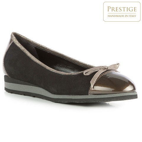 Buty damskie, czarno - złoty, 83-D-106-1-35, Zdjęcie 1