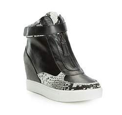 Buty damskie, czarny, 83-D-900-1-40, Zdjęcie 1