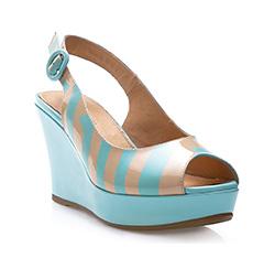 Buty damskie, błękitny, 82-D-518-7-37, Zdjęcie 1