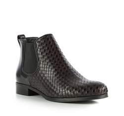 Buty damskie, czarno - brązowy, 83-D-108-1-35, Zdjęcie 1