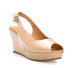 Buty damskie, beżowy, 82-D-518-9-39, Zdjęcie 1