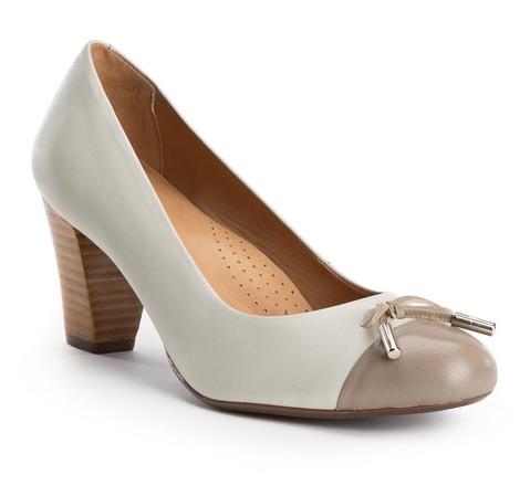 Buty damskie, beżowy, 82-D-709-9-36, Zdjęcie 1