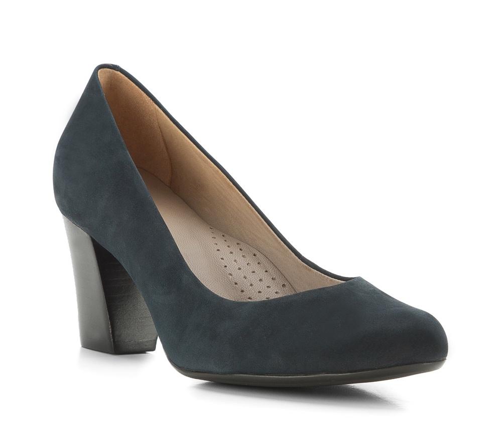 Обувь женскаяЖенские туфли-лодочки выполненны по технологии hand made из лучшей итальянской кожи. Подошва сделана  из синтетического материала. Модель на устойчивом каблуке с мягкой  профилированной стелькой гарантируют высокий комфорт.         кожа натуральная          кожа натуральная          материал синтетический<br><br>секс: женщина<br>Цвет: синий<br>Размер EU: 37<br>материал:: Натуральная кожа<br>примерная высота каблука (см):: 7