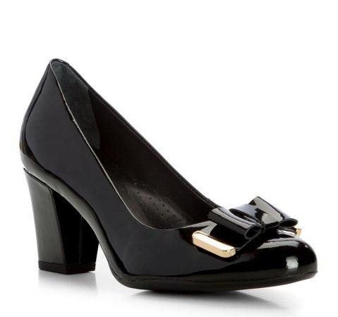 Buty damskie, czarny, 83-D-702-1-35, Zdjęcie 1