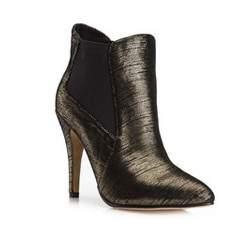Buty damskie, złoty, 79-D-800-G-37, Zdjęcie 1