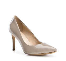 Buty damskie, ciemny  beż, 84-D-503-8-38, Zdjęcie 1