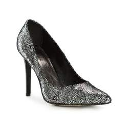 Buty damskie, srebrny, 83-D-200-S-38, Zdjęcie 1
