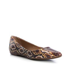 Buty damskie, brązowo - żółty, 84-D-750-4-37, Zdjęcie 1