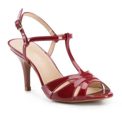 Buty damskie, czerwony, 84-D-758-3-35, Zdjęcie 1