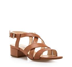 Buty damskie, brązowy, 84-D-406-4-36, Zdjęcie 1