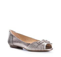 Buty damskie, srebrny, 84-D-753-S-41, Zdjęcie 1